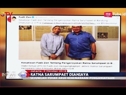 Sejumlah Pihak Benarkan Rumor Ratna Sarumpaet Dianiaya - BIM 02/10