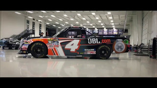 Chris Bell's JBL truck new paint scheme