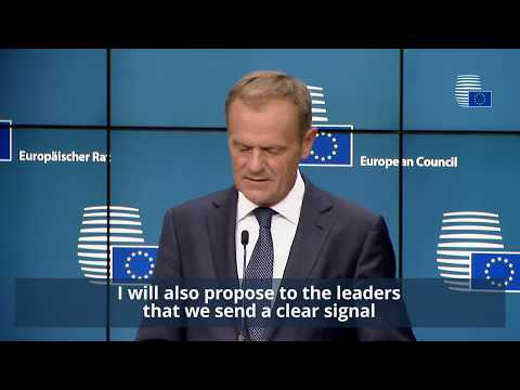 June 2017 European Council - Highlights of Day 1