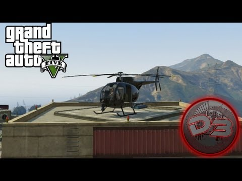 GTA 5 Secret Helicopter - $2,000,000 Buzzard Location!