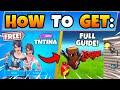 Fortnite TNTINAs TRIAL CHALLENGES GUIDE! - Logjam Woodworks + Propane Tanks (Battle Royale Season 2)