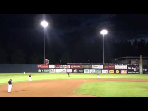Multiple Eyewitnesses confirmed UFO-film Nat Bailey Stadium Vancouver Canada - September 3rd, 2013