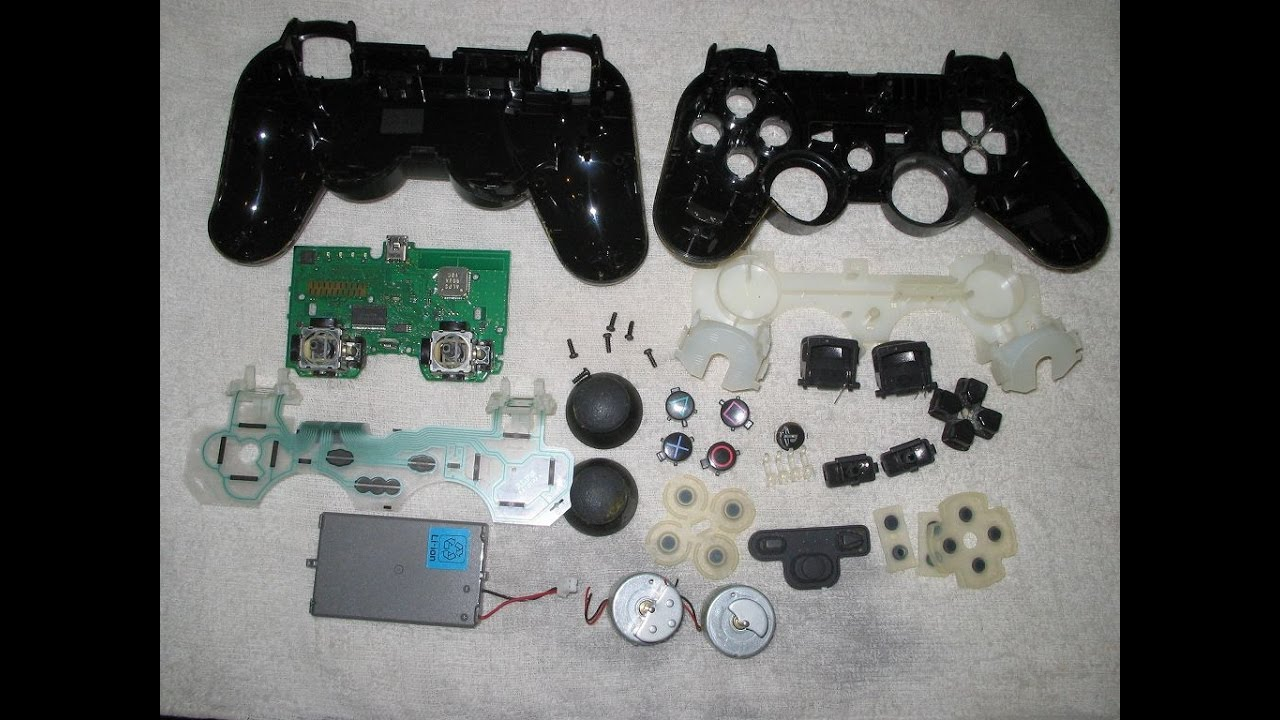 hight resolution of playstation 2 controller tear down