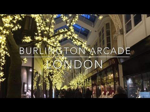 Burlington Arcade - Luxury Shopping in London