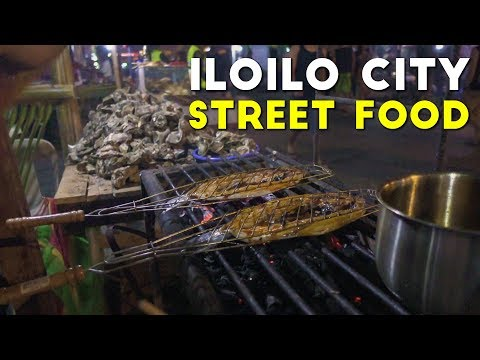 MUST-TRY Filipino Street Food in Iloilo City, Philippines