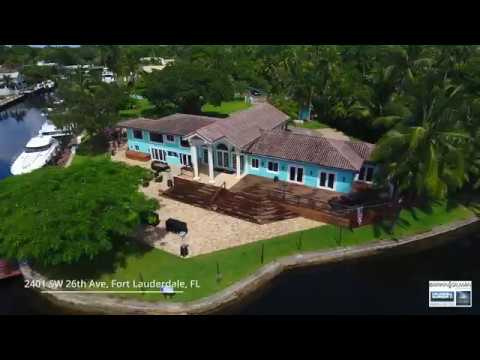 Luxury Waterfront Tropical Compound | 2401 SW 26th Ave., Fort Lauderdale
