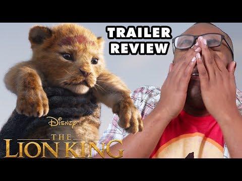 THE LION KING 2019 Trailer Review & Rants - Black Nerd