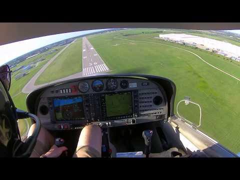 DA40 Landings at KIXD