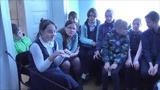 Первые уроки юного дворянина 22 школа 5в