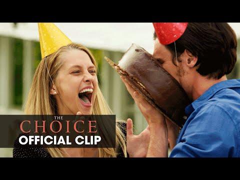 "The Choice (2016 Movie - Nicholas Sparks) Official Clip – ""Cake"""