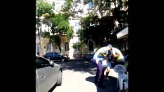 Водитель покусал - Гаи, Одесса HD(, 2015-06-14T09:19:21.000Z)