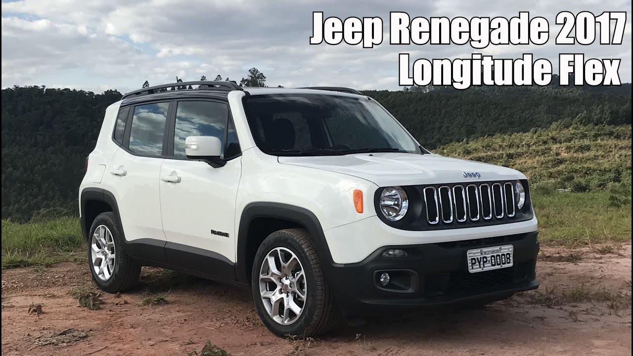 Jeep Renegade 2017 1 8 Longitude Automatico Em Detalhes Youtube