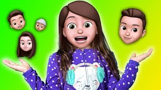 The Finger Family Song - With Animojis!