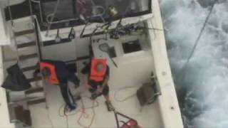Coast Guard rescues eight fishermen from sinking boat