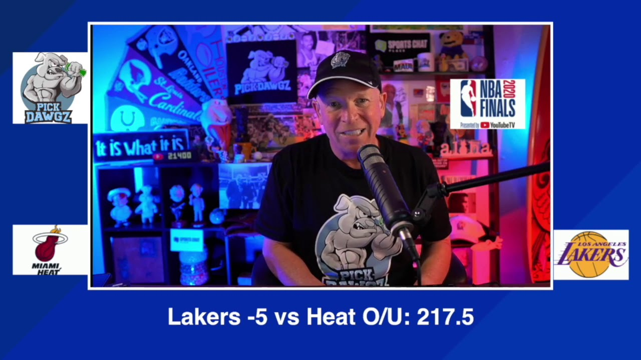 Los Angeles Lakers Vs Miami Heat 2020 Nba Finals Game 1 Pick Prediction 9 30 20 Youtube