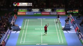 Yonex Japan Open 2015 | Badminton F M3-MS | Lin Dan vs Viktor Axelsen
