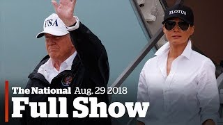 2017-08-29-11-31.The-National-for-Tuesday-August-29th-Trump-Visits-Texas-War-on-Fat-Ends-Underwater-Exploration