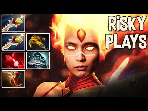 RISKY PLAYS ◄ SingSing Dota 2 Highlights