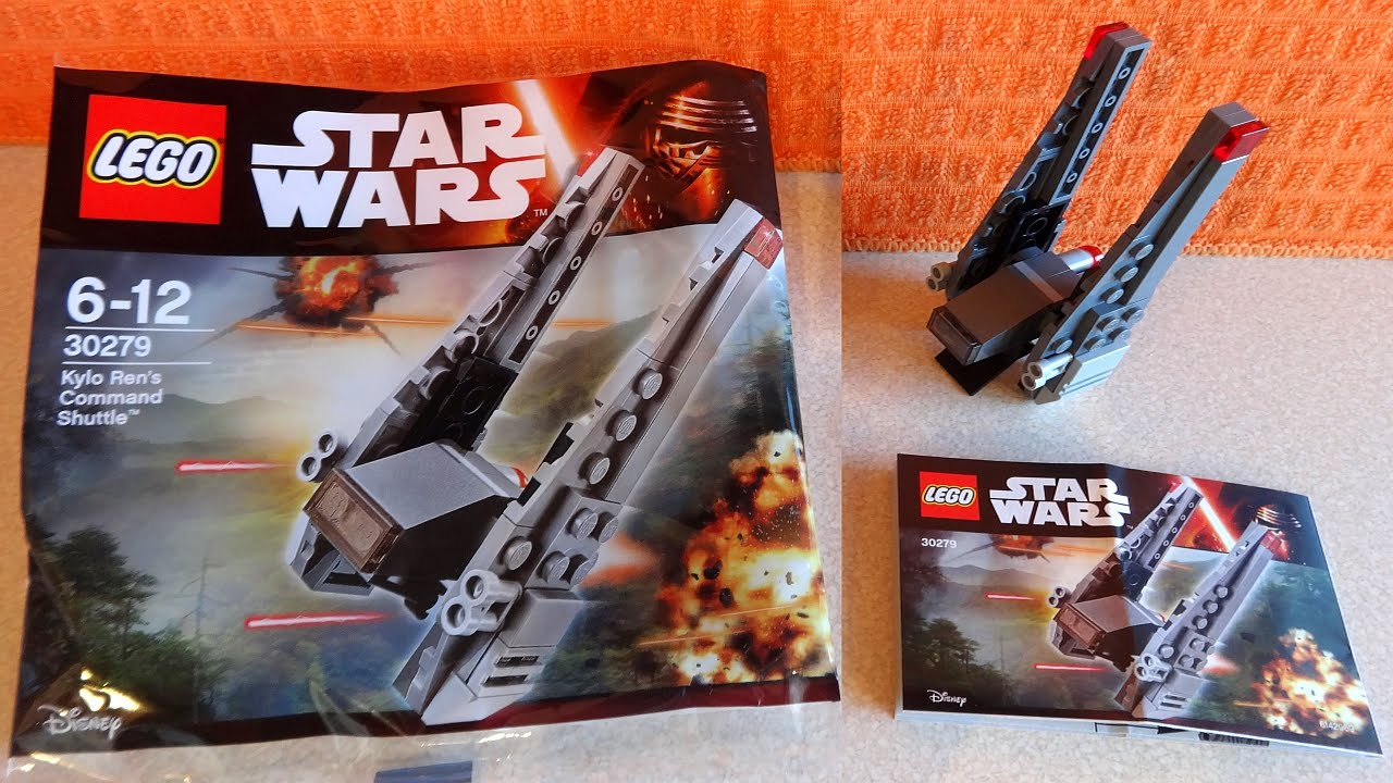 30380 Lego Star Wars Kylo Ren's Shuttle Polybag Lot Of 10 NEW Sealed