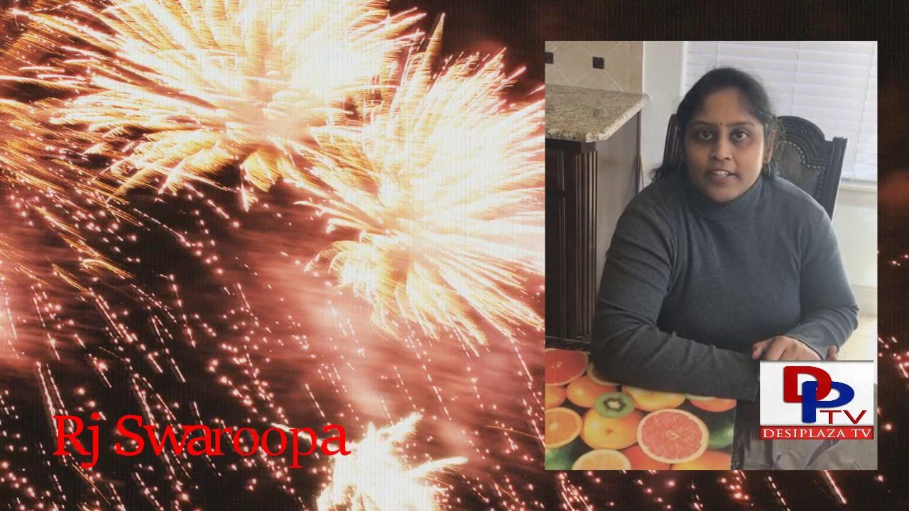 RJ Swaroopa wishes Desiplaza A Very Happy 6th Anniversary || Desiplaza || MastiTime Radio || Dallas