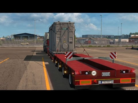 Euro Truck Simulator 2 - Transformer - Heavy Cargo Gameplay