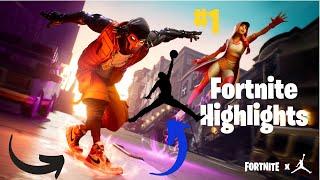 NOUVEAU JORDAN SKINS!! Fortnite Gameplay - Faits saillants de la Quinzaine #1 - Fortnite Battle Royal