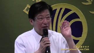 川勝平太 静岡県知事 2013.7.9