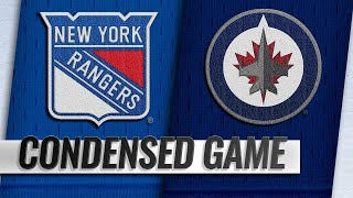 02/12/19 Condensed Game: Rangers @ Jets