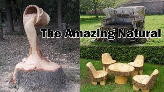 The Amazing Natural - Amazing Tree Carving Art, Amazing Chainsaw Carving