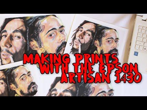 Epson Artisan 1430 Review & Making My Own Prints
