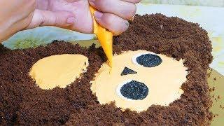 торт Чебурашка из крема МК