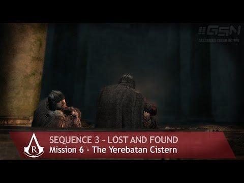 Assassin's Creed: Revelations - Sequence 3 - Mission 6 - The Yerebatan Cistern (100% Sync)