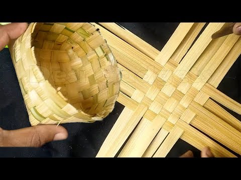How to make Bamboo Basket/Tokri from Bamboo