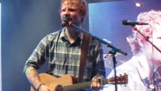 ED SHEERAN - Give me love @Mallorca Rocks 22/07/14