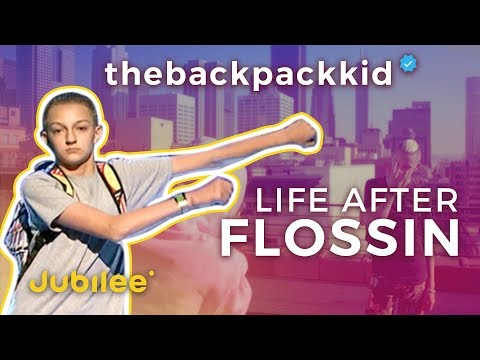 Backpack Kid Shows Us Life After Breaking the Internet