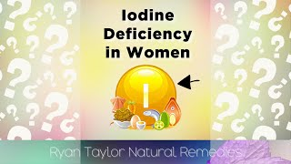 Iodine Deficiency: 5 Problems in Women #shorts