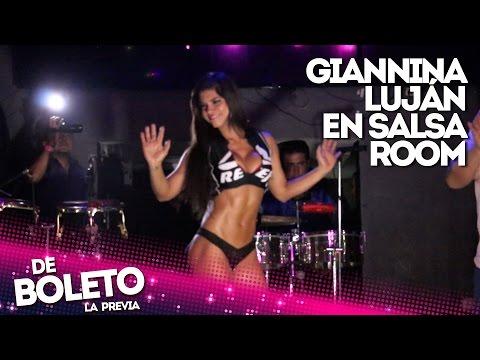 Giannina Luján en Salsa Room - De Boleto