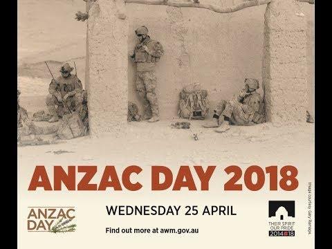 Anzac Day 2018: National Ceremony