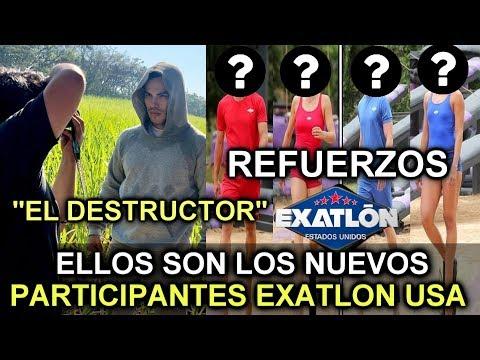 ESTOS SON LOS REFUERZOS DE EXATLON ESTADOS UNIDOS- ELLOS SON LOS NUEVOS PARTICIPANTES...
