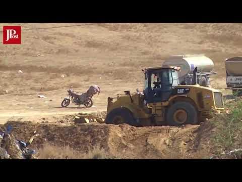 IDF Foils Terror Tunnel Renovation Effort in Gaza, March 18, 2018 (IDF Spokesperson's Unit)