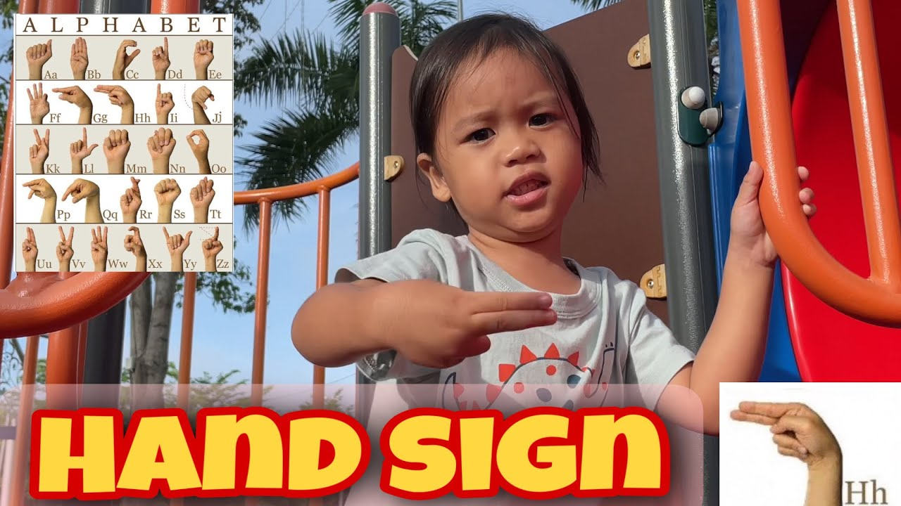 Cloud learns ABC Hand Sign | Learning ASL | Reverse ABC Song | Awesome Cloud
