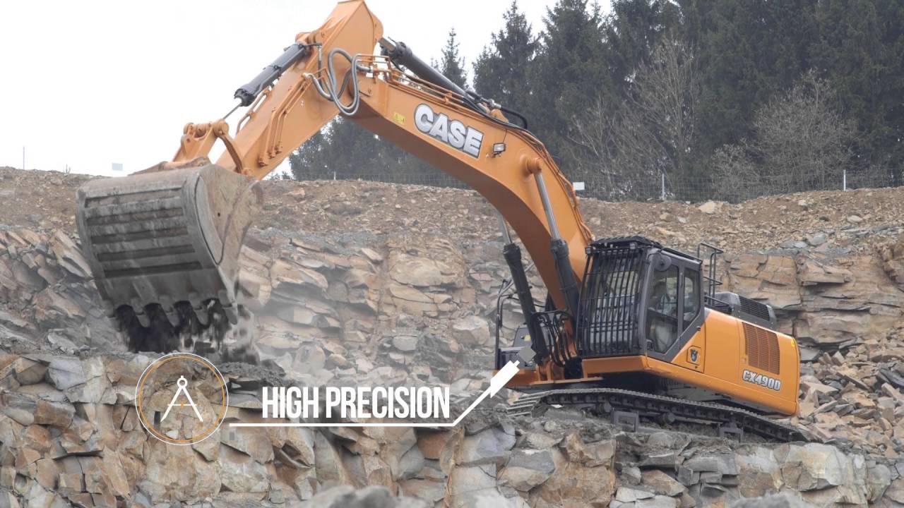 Europe Case Cx490d Crawler Excavator Youtube