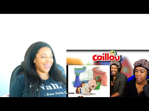 BERLEEZY AND MOM REACT TO CAILLOU EXPOSED   Reaction