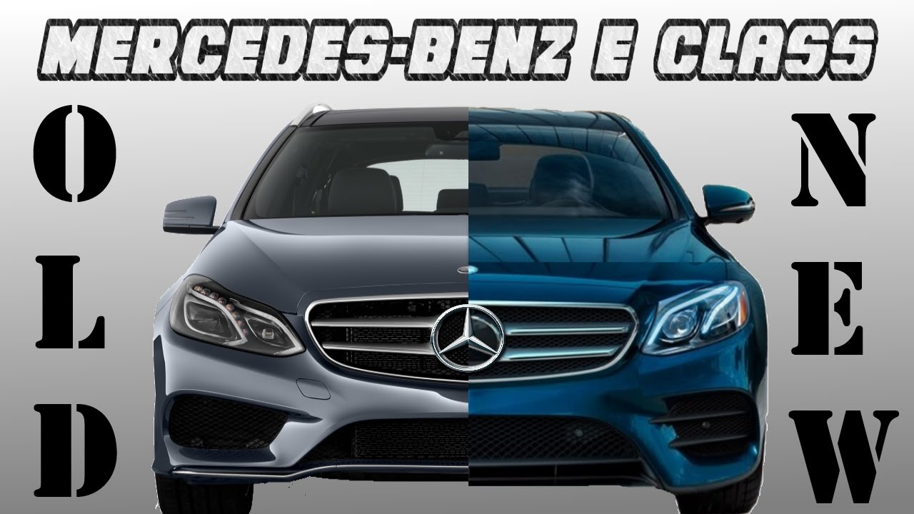 old vs new mercedes benz e class youtube. Black Bedroom Furniture Sets. Home Design Ideas