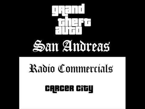 Grand Theft Auto: San Andreas - Radio Commercials (Carcer City)