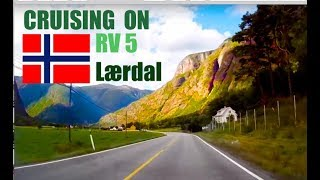 Cruising along the Rv 5 Lærdal