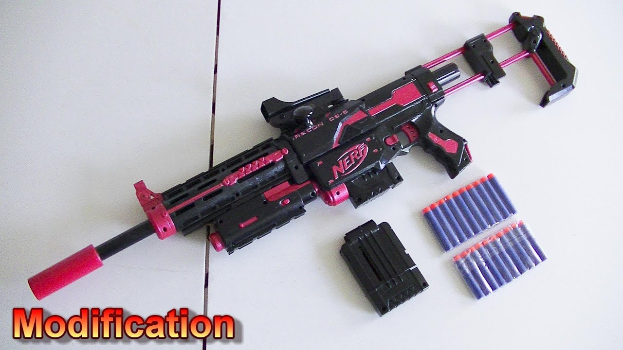 Modification - Nerf Recon With Green Dot Sight