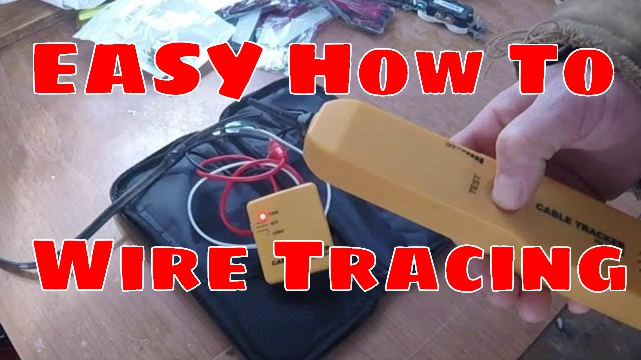 how to use a wire tracker tracer locating wires in my rh youtube com