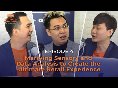 """""""Marrying Sensory and Data Analysis to Create the Ultimate Retail Experience"""" with Jerry Chen 