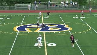 Acton Boxborough Varsity Boys Lacrosse vs Bedford 5/4/18